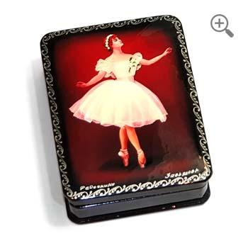 Russian jewelry box dancer