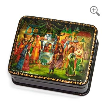 Russian fairy tales jewelry box