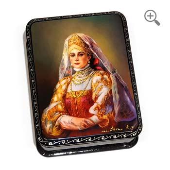 Russian jewelry box