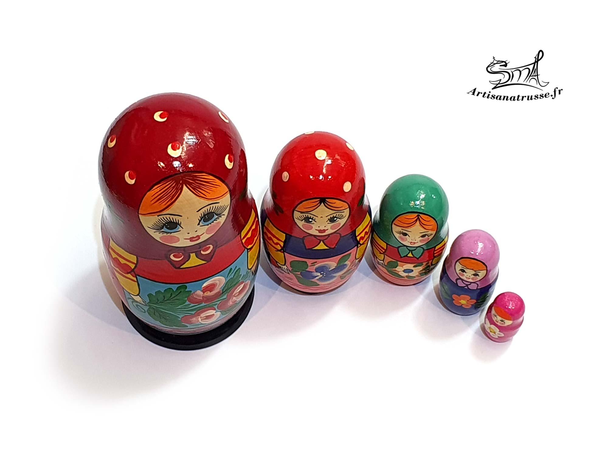 poupée russe classique vintage