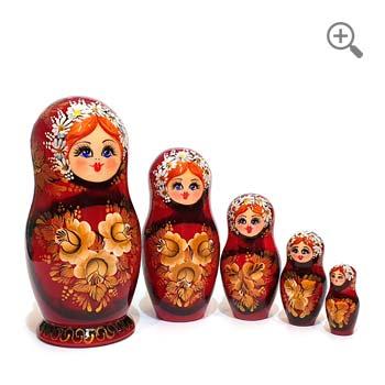 Matryoshka Russian Nesting Dolls