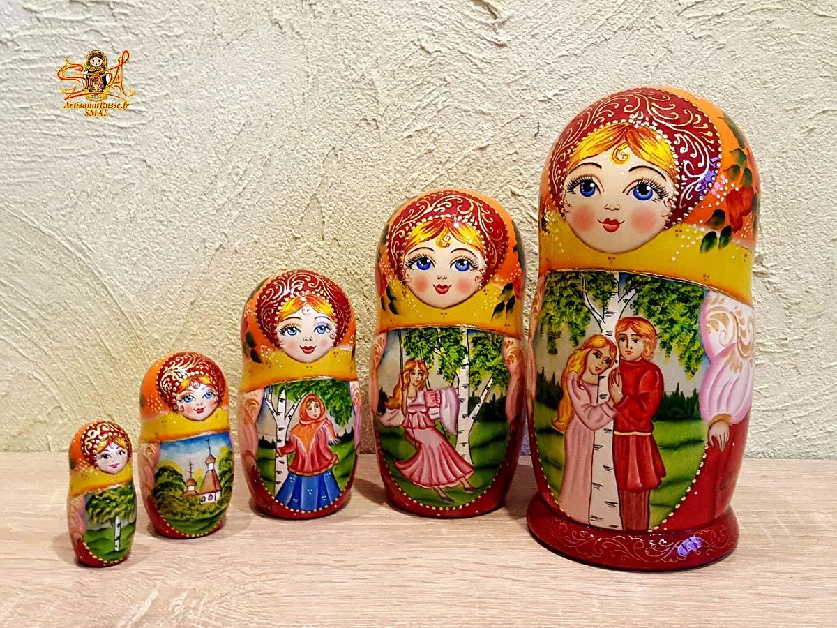matriochka poupee russe conte