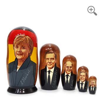 Matriochka Angela Merkel, chancelière allemande