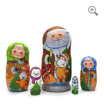 matryoshka Père Noël