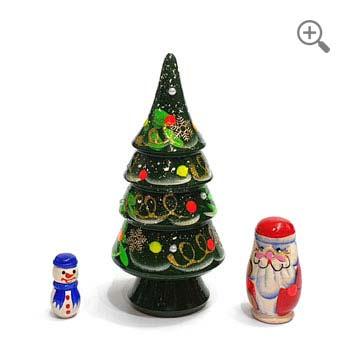 matryoshka christmas tree