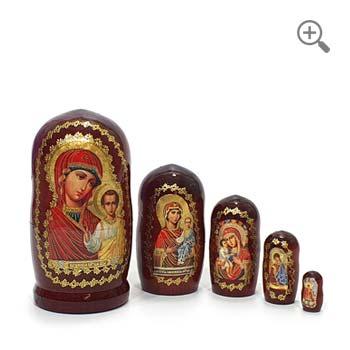 matriochka poupee russe icônes
