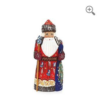 wooden santa claus