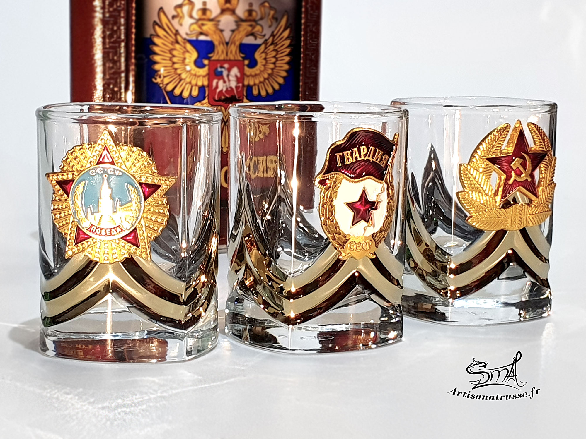 Verres à Shot Russes