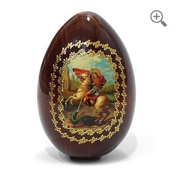 Œuf de Pâques icône orthodoxe russe